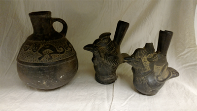 artifacts from dr campa collection at duma