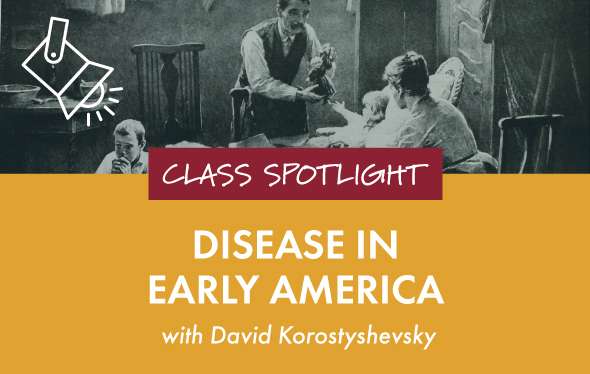 Disease in Early America Class Graphic