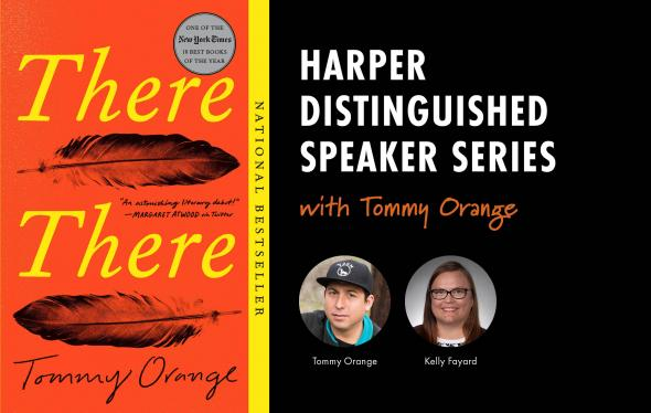 Harper Lecture with Tommy Orange event graphic