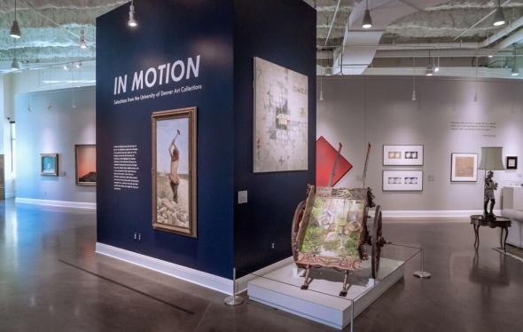 In Motion exhibition photo