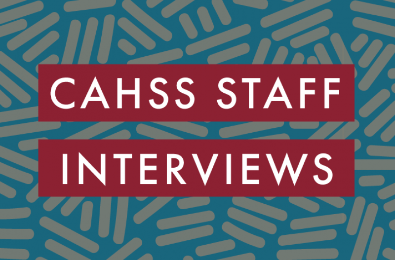 CAHSS staff interview graphic