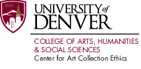 center for art collection ethics logo