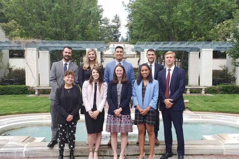 Claire Girardeau and El Pomar Foundation Fellows